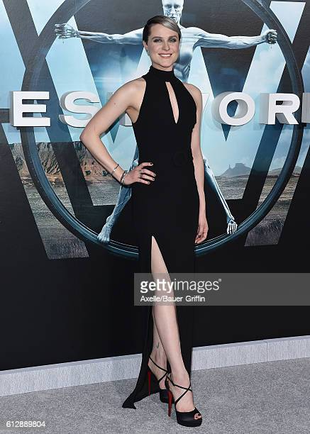 Actress Evan Rachel Wood arrives at the premiere of HBO's 'Westworld' at TCL Chinese Theatre on September 28, 2016 in Hollywood, California.
