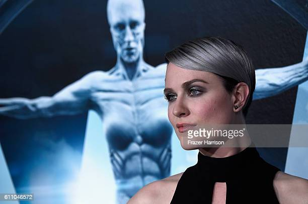 Actress Evan Rachel Wood arrives at the Premiere of HBO's Westworld Arrivals at TCL Chinese Theatre on September 28 2016 in Hollywood California