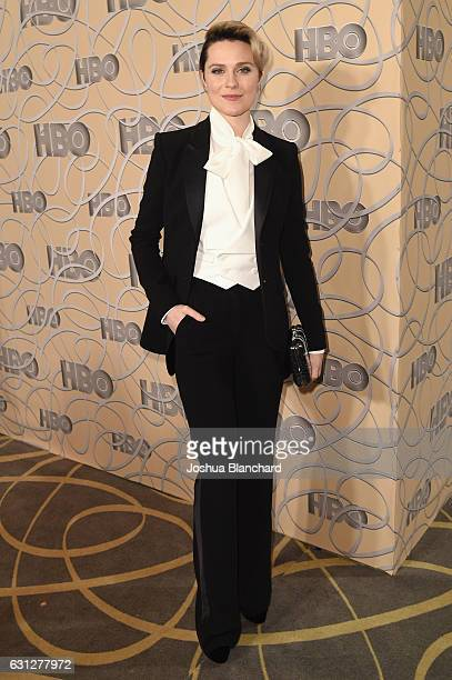 Actress Evan Rachel Wood attends HBO's Official Golden Globe Awards After Party at Circa 55 Restaurant on January 8 2017 in Beverly Hills California