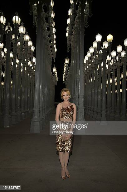 Actress Evan Rachel Wood attends LACMA 2012 Art Film Gala Honoring Ed Ruscha and Stanley Kubrick presented by Gucci at LACMA on October 27 2012 in...