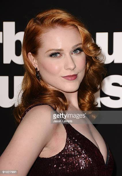 Actress Evan Rachel Wood attends the 7th season premiere of HBO's Curb Your Enthusiasm at Paramount Theater on the Paramount Studios lot on September...