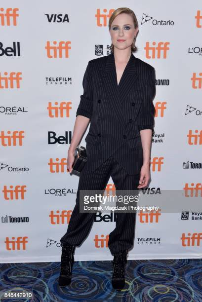 Actress Evan Rachel Wood attends the 'A Worthy Companion' premiere at the Scotiabank Theatre on September 10 2017 in Toronto Canada
