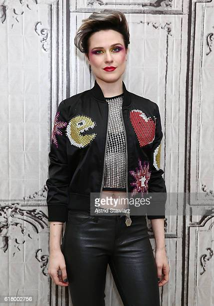 Actress Evan Rachel Wood attends The Build Series Presents Evan Rachel Wood discussing The New Show 'Westworld' Performs With The Group Rebel and a...