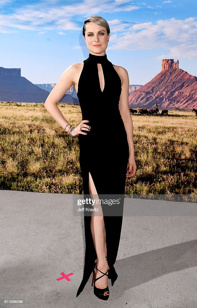 Actress Evan Rachel Wood attends the premiere of HBO's 'Westworld' at TCL Chinese Theatre on September 28, 2016 in Hollywood, California.