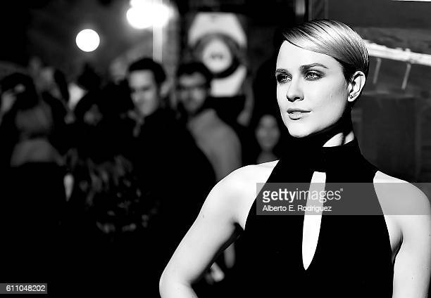 Actress Evan Rachel Wood attends the premiere of HBO's 'Westworld' at TCL Chinese Theatre on September 28 2016 in Hollywood California