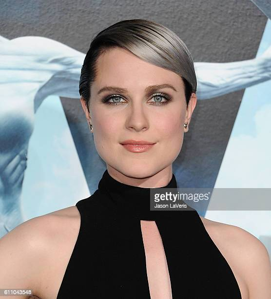 Actress Evan Rachel Wood attends the premiere of 'Westworld' at TCL Chinese Theatre on September 28 2016 in Hollywood California