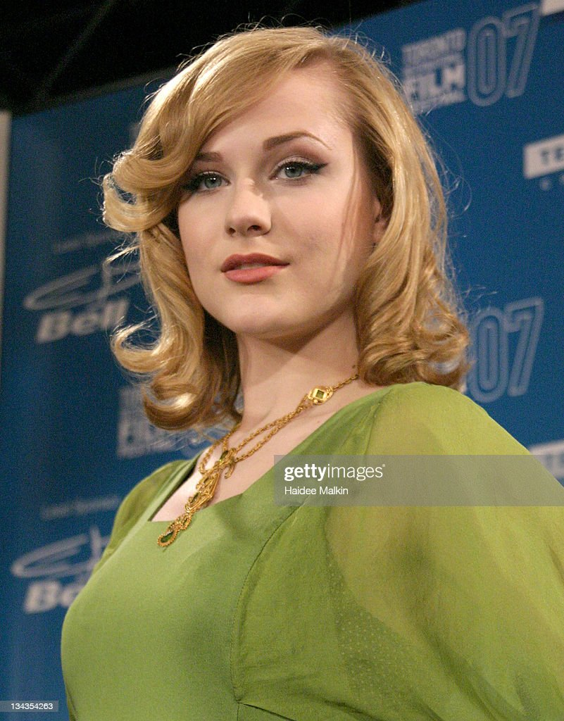 Actress Evan Rachel Wood during The 32nd Annual Toronto International Film Festival 'Across The Universe Press' Conference at the Sutton Place Hotel on September 10, 2007 in Toronto, Canada.