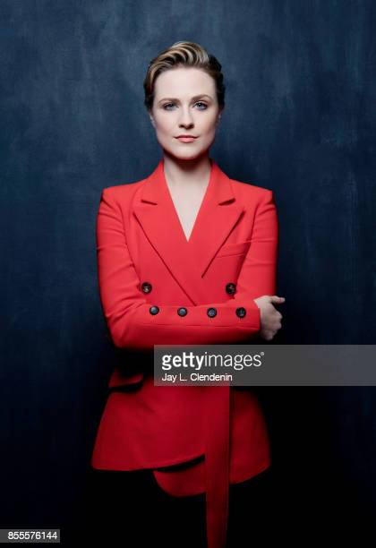 Actress Evan Rachel Wood from the film 'A Worthy Compainion' poses for a portrait at the 2017 Toronto International Film Festival for Los Angeles...