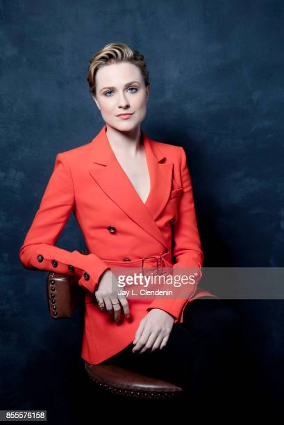 Actress Evan Rachel Wood from the film A Worthy Compainion poses for a portrait at the 2017 Toronto International Film Festival for Los Angeles Times...