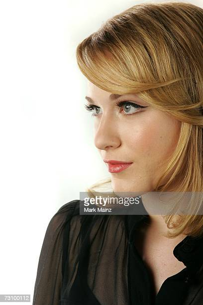 Actress Evan Rachel Wood from the film King of California poses for a portrait during the 2007 Sundance Film Festival on January 24 2007 in Park City...