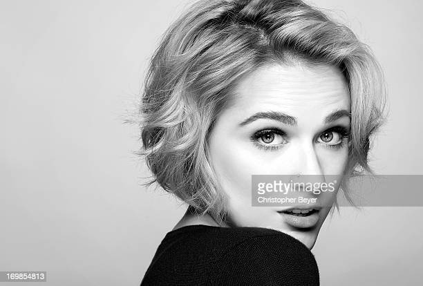 Actress Evan Rachel Wood is photographed at Sundance Film Festival for Entertainment Weekly Magazine on January 23 2013 in Park City Utah