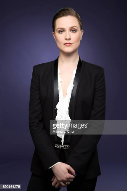 Actress Evan Rachel Wood is photographed for Los Angeles Times on May 23 2017 in Los Angeles California PUBLISHED IMAGE CREDIT MUST READ Myung J...