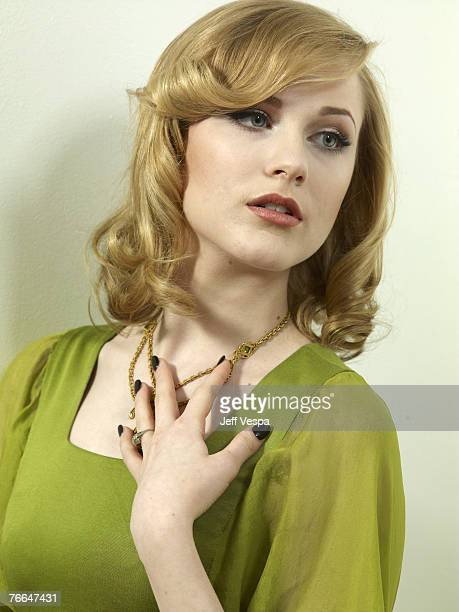 TORONTO ONTARIO SEPTEMBER 10 Actress Evan Rachel Wood of Across The Universe at the 2007 Diesel Portrait Studio Presented by Wireimage and Inside...