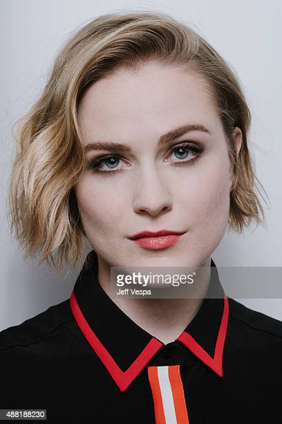 Actress Evan Rachel Wood of Into The Forrest poses for a portrait at the 2015 Toronto Film Festival at the TIFF Bell Lightbox on September 12 2015 in...