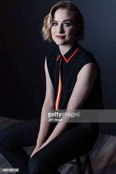 Actress Evan Rachel Wood of 'Into The Forrest' poses for a portrait at the 2015 Toronto Film Festival at the TIFF Bell Lightbox on September 12 2015...