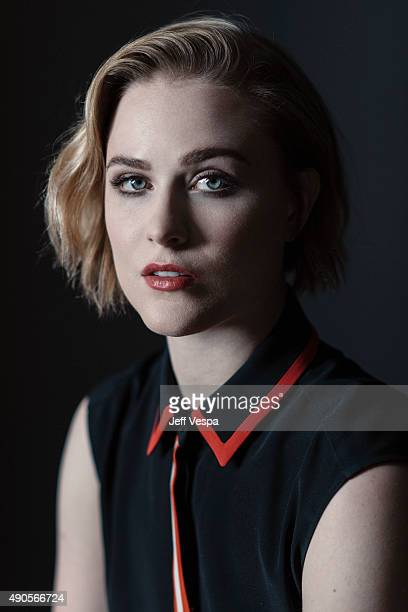 Actress Evan Rachel Wood of 'Into The Forrest' poses for a portrait at the 2015 Toronto Film Festival at the TIFF Bell Lightbox on September 15 2015...