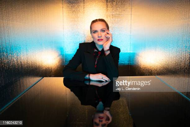 Actress Evan Rachel Wood of 'Westworld' is photographed for Los Angeles Times at Comic-Con International on July 20, 2019 in San Diego, California....