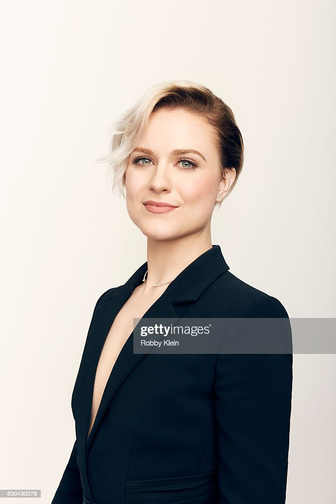 Actress Evan Rachel Wood poses for a portrait during the 2016 Critics Choice Awards on December 11, 2016 in Santa Monica, California
