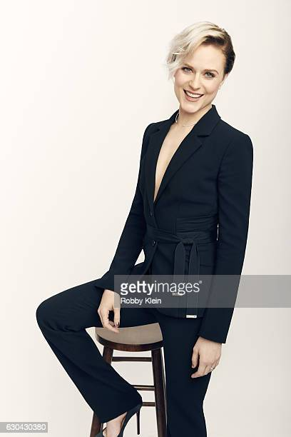Actress Evan Rachel Wood poses for a portrait during the 2016 Critics Choice Awards on December 11 2016 in Santa Monica California