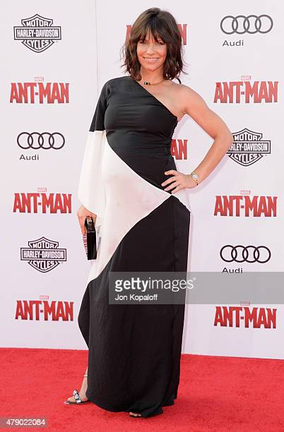 Actress Evangeline Lilly arrives at the Los Angeles Premiere 'AntMan' at Dolby Theatre on June 29 2015 in Hollywood California