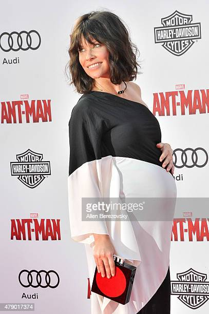 Actress Evangeline Lilly arrives at the Los Angeles Premiere of Marvel Studios 'AntMan' at Dolby Theatre on June 29 2015 in Hollywood California