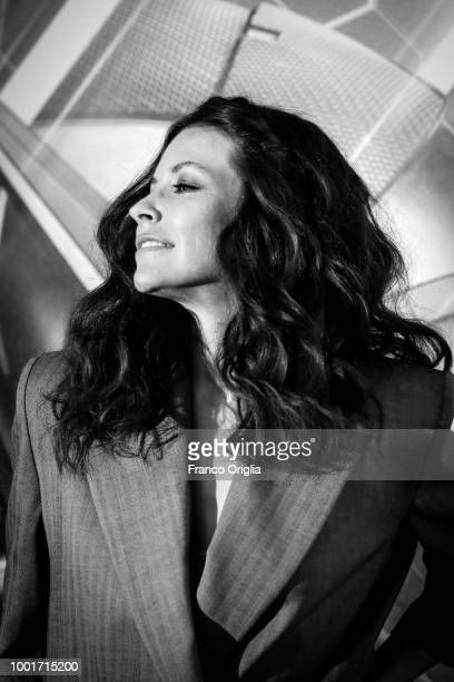 Actress Evangeline Lilly attends 'AntMan And The Wasp' photocall at The Russie Hotel on July 19 2018 in Rome Italy