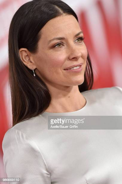 Actress Evangeline Lilly attends the premiere of Disney and Marvel's 'AntMan and the Wasp' at El Capitan Theatre on June 25 2018 in Hollywood...
