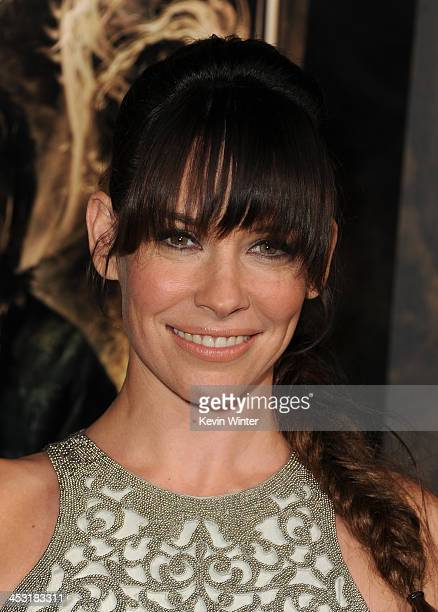 "Actress Evangeline Lilly attends the premiere of Warner Bros' ""The Hobbit: The Desolation of Smaug"" at TCL Chinese Theatre on December 2, 2013 in..."