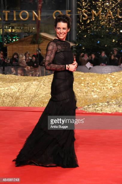 Actress Evangeline Lilly Attends The The Hobbit The Desolation Of Smaug European Premiere At