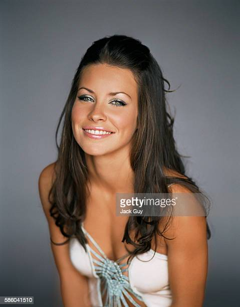 Actress Evangeline Lilly is photographed for Item Magazine in 2004 PUBLISHED IMAGE