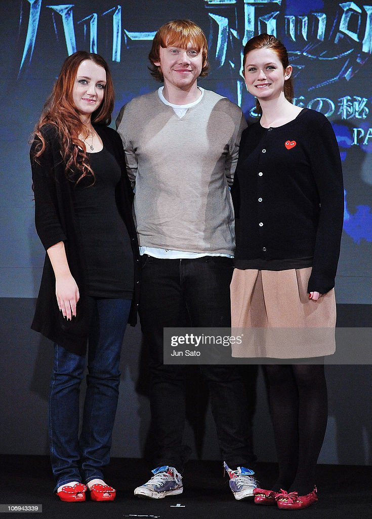 """""""Harry Potter And The Deathly Hallows - Part 1"""" Press Conference In Tokyo : News Photo"""