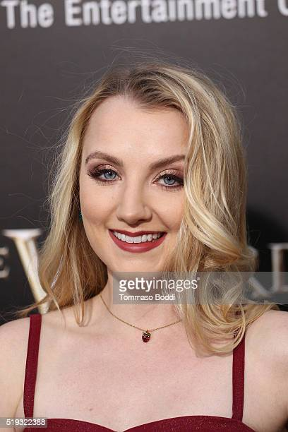 Actress Evanna Lynch attends the Universal Studios Hollywood Hosts The Opening Of The Wizarding World Of Harry Potter at Universal Studios Hollywood...