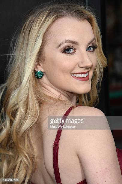 Actress Evanna Lynch attends Universal Studios' Wizarding World of Harry Potter Opening at Universal Studios Hollywood on April 5 2016 in Universal...