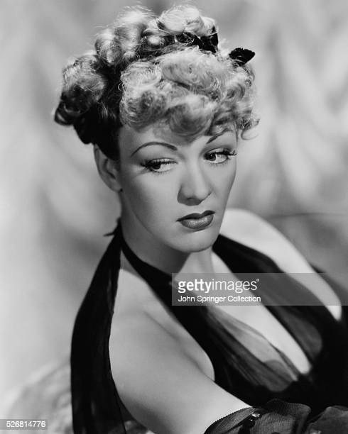 Actress Eve Arden in Ringlets