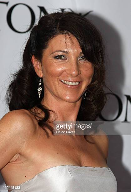 Actress Eve Best attends the 62nd Annual Tony Awards on June 15 2008 at Radio City Music Hall in New York City