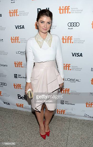 Actress Eve Hewson arrives at the Enough Said premiere during the 2013 Toronto International Film Festival at The Elgin on September 7 2013 in...