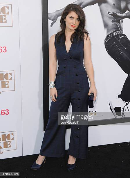 Actress Eve Hewson arrives at the Los Angeles Premiere Magic Mike XXL at TCL Chinese Theatre IMAX on June 25 2015 in Hollywood California