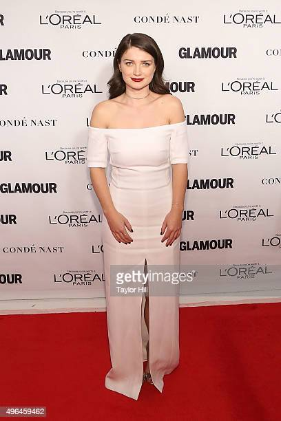 Actress Eve Hewson attends Glamour's 25th Anniversary Women Of The Year Awards at Carnegie Hall on November 9 2015 in New York City