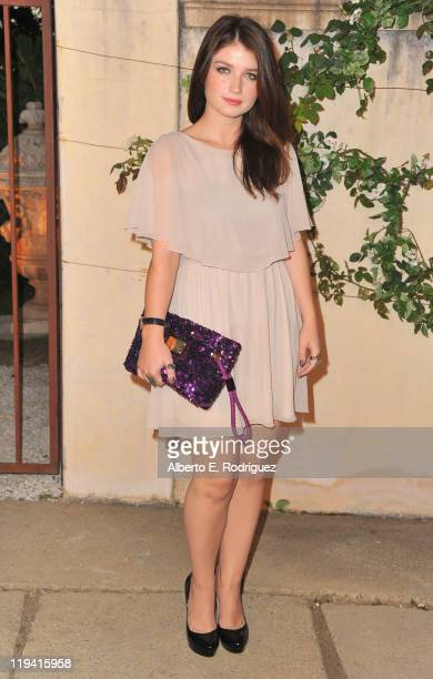 Actress Eve Hewson attends MIU MIU presents Lucrecia Martel's Muta on July 19 2011 in Beverly Hills California