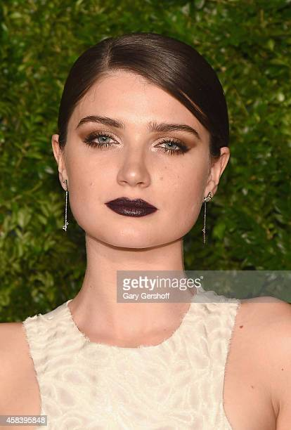 Actress Eve Hewson attends The 11th Annual CFDA/Vogue Fashion Fund Awards at Spring Studios on November 3 2014 in New York City