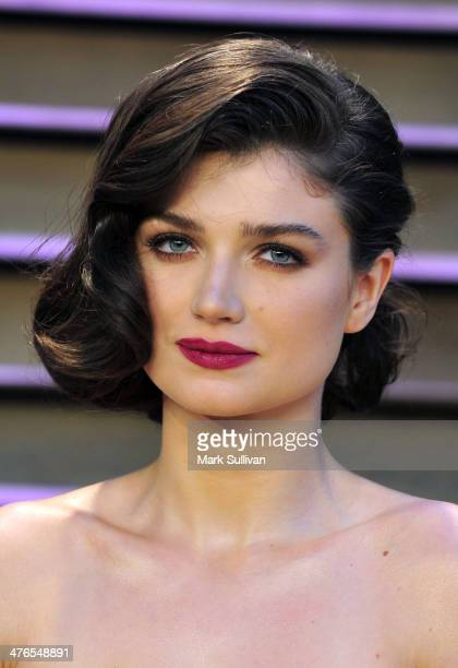 Actress Eve Hewson attends the 2014 Vanity Fair Oscar Party hosted by Graydon Carter on March 2 2014 in West Hollywood California