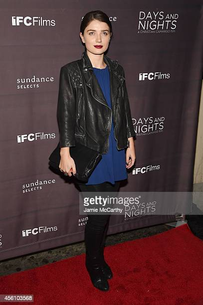 Actress Eve Hewson attends the premiere of 'Days And Nights' at the IFC Center on September 25 2014 in New York City