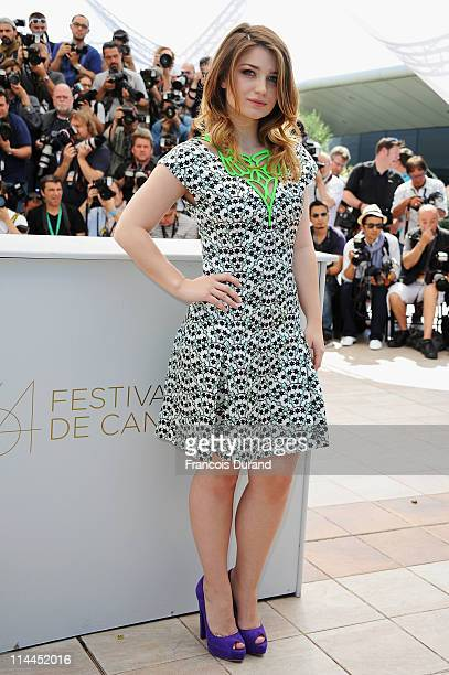 Actress Eve Hewson attends the 'This Must Be The Place' photocall during the 64th Annual Cannes Film Festival at Palais des Festivals on May 20 2011...