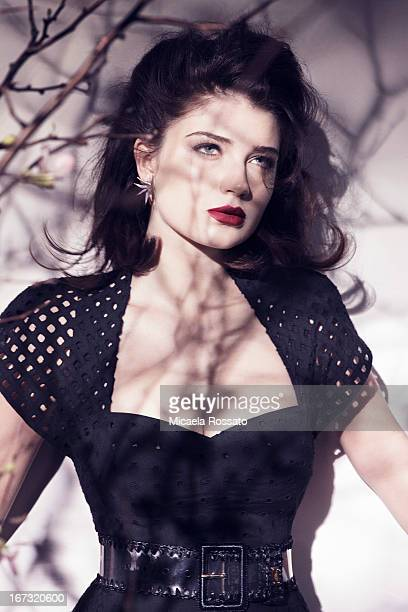 Actress Eve Hewson is photographed for Sunday London Times Style on January 24 2012 in New York City PUBLISHED IMAGE