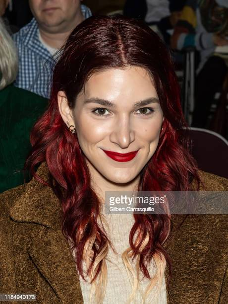 Actress Eve Lindley attends Sally Field book signing and discussion of the book In Pieces at Free Library of Philadelphia on November 01 2019 in...