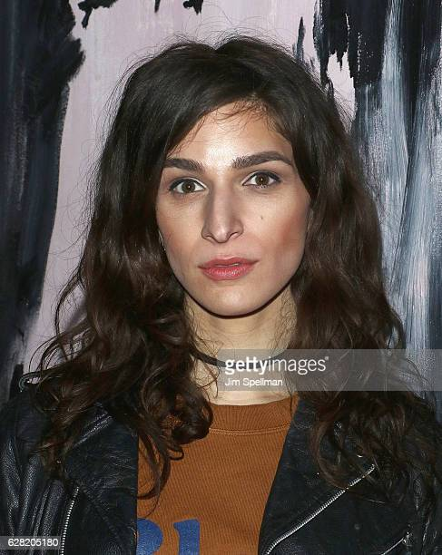 Actress Eve Lindley attends the after party for the screening of All We Had hosted by The Cinema Society and Ruffino at Jimmy At The James Hotel on...