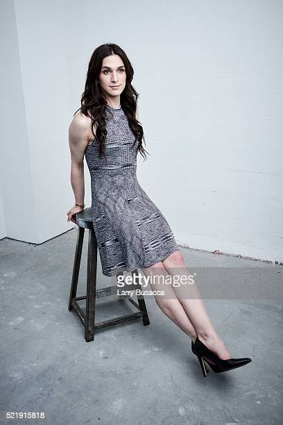 Actress Eve Lindley from All We Had poses at the Tribeca Film Festival Getty Images Studio on April 16 2016 in New York City