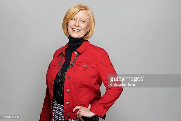 Actress Eve Plumb is photographed for Entertainment Weekly Magazine on January 25 2014 in Park City Utah