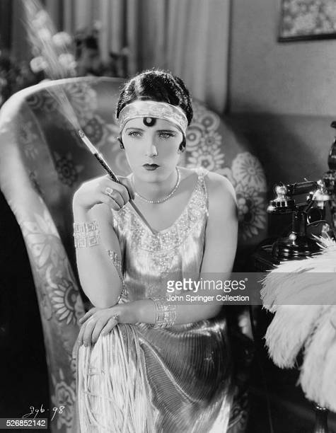 Actress Evelyn Brent in Flapper Costume