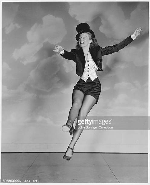 Actress Evelyn Keyes Tap Dancing